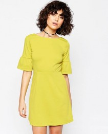Fashion Dress Yellow