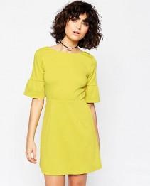 Fashion Dress Yellow