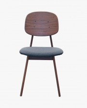 Barcelona Solid Wood Arm Chair in Natural