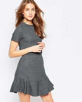 Elizabeth PU Swing Dress